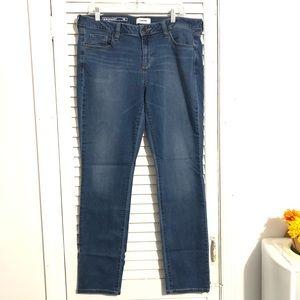 Sonoma Slim Straight Womans Jeans Size 16 Long